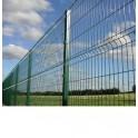 """Pack completo de Verjas modelo """"Pliegues"""", 1m Alto. Formado por paneles y postes. Longitud 10m lineales"""