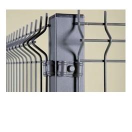 Perreras modulares con paneles de malla electrosoldada (6,25 metros cuadrados) 1m/alto.