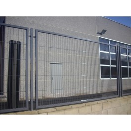 "Panel Verja electrosoldada enmarcada ""Mod Clasico"" 2m/Alto."