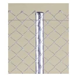 Pilar para valla romboidal de 4m. de alta (2+2m). Longitud total del pilar 4,40m.