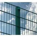 "Panel Verja modelo ""Doble Varilla"" de 1 metro de alto y 2,50 m de largo."