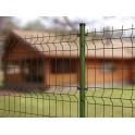 """Kit completo de Verjas modelo """"Brico Pliegues"""", 1m Alto. Formado por paneles y postes. Longitud 10m lineales"""