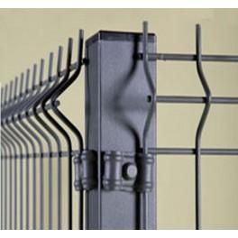 Perreras modulares con paneles de malla electrosoldada (6,25 metros cuadrados) 2m/alto.