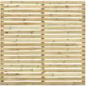 Panel madera pino para valla de jardín 180x170 (Montada y lista para colocar al terreno)