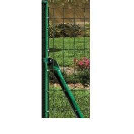 Pilar de comienzo o extremo, para Malla electrosoldada en rollos de 2m. (2,40m alto)