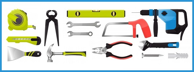 herramientas para el montaje de vallas